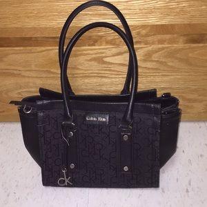 Calvin Klein black purse.